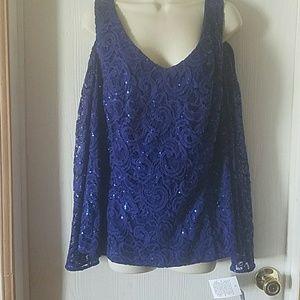 Alex Evenings Women's Blouse Shirt, NWT, Size 2X